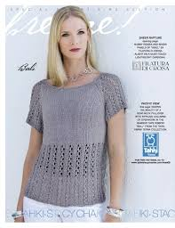 Vogue Knitting Patterns Unique Vogue Knitting Bali Pacific View Tunic Tahki Stacy Charles