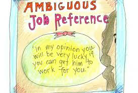 job reference the truth about job references