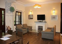 beautiful layout fully furnished 3 bedrooms villa with bright windows for in tay ho living hanoi