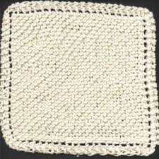 Knitting Patterns For Dishcloths