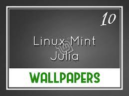 linux mint 10 julia default wallpapers