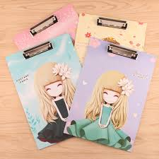 clipboard office paper holder clip. Cute Beaty Girl Series A4 Folder Board Tablet Holder Paper Writing Pad Clipboard For Gifts Office Clip O