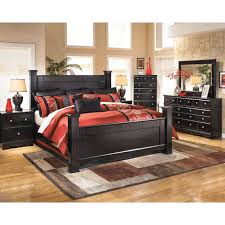 Poster Bedroom Furniture Ashley Shay Poster Bed Beds Home Appliances Shop The Exchange