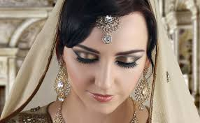bronze smokey eye makeup tutorial indian asian stani bridal ma