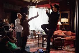Katerina as Bonnie BTS of TVD 2x18: 'The Last Dance' (HQ) - Bonnie ...