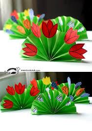 Paper Flower Craft Ideas Spring Paper Flowers Fun Crafts Kids