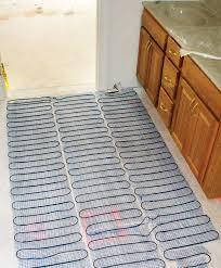 in floor electric heating options