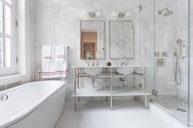 elegant classically styled bathroom with frameless shower ceramic tile bathrooms e69 tile