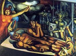 david alfaro siqueiros 1896 1974 mexican painter when the murals becomes the concrete expression of art