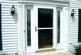 storm door retractable screen replacement larson glass install how to panel full view