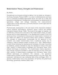 on modernization theory essay on modernization theory