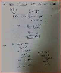 we can also express the terminal velocity in terms of the mass is shown in the below diagram poiie s equation
