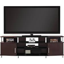 Tv Stands For Lcd Tvs Carson Tv Stand For Tvs Up To 70 Wide Cherry Walmartcom