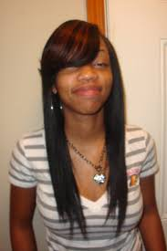 Sew In Hairstyles Long Hair Straight Sew In Hairstyles With Side Bangs Places To Visit