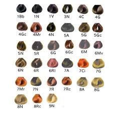 Satin Hair Color Chart Recommendation Of The Hair Using Marvelous Satin Hair Color