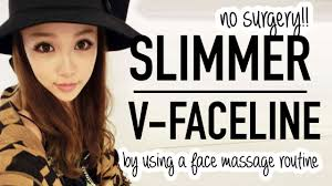 Asian Facial Massage Tutorial Use a spoon for a slimmer face.