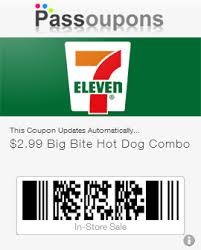 Passbook Coupon Eleven 7 Eleven Passoupons Coupons Iphone