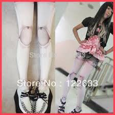 ball joint tights. best wholesale 2015 new design fashion harajuku girl women doll ball joint stockings tattoo print pantyhose tights under $11.28 | dhgate.com r