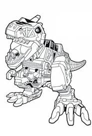 Power Rangers Dino Coloring Pages At Getdrawingscom Free For