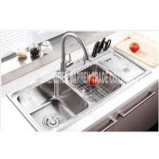 triple kitchen sinks 914321cm topmount triple bowl undermount stainless steel