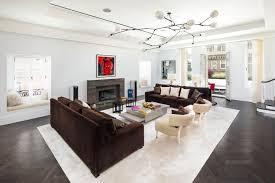 Phòng khách theo phong cách hiện đại chú trọng sự thoáng đãng