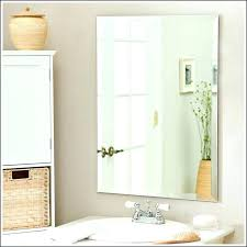 beveled bathroom mirror beveled bathroom mirrors mirror large wall frameless oval beveled bathroom mirror