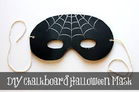 Mask Decorating Ideas DIY Halloween Decorations for an Upcycled Halloween Party 64