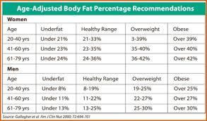 Body Fat Percentage Chart Template Chart Inspiration Body Fat Percentage Chart Body Fat Percentage Chart 1
