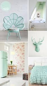 Dco vert menthe  l'eau - Blog Deco DIY. Mint Bedroom DecorPastel ...