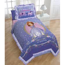 disney princess sofia single size comforter sham set 1227twcs900 only