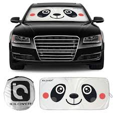 Windshield Sun Shades With Designs Windshield Sun Shade With Cute Cartoon Design Car Sunshade Front Window Ayamaya Cute Panda Front Auto Car Windshield Sun Shade Folding Silvering Sun