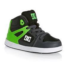 dc shoes high tops green and black. dc shoes - rebound ul toddler green/grey/white dc high tops green and black