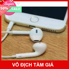 🏵️ [Bán chạy nhất] Tai nghe Iphone 6/6s zin bóc máy - Bảo hành 12 tháng -  Hàng xuất dư 🏵️