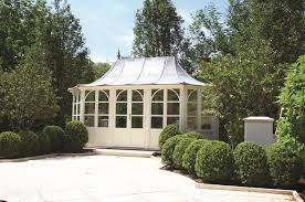 A vast number of design- and production experiences have led to a  completely fantastic series of garden pavilions in a very high quality.