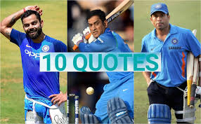 Happy Birthday Captain Cool 10 Quotes About Ms Dhoni That Define