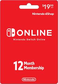 Nintendo Switch Online 12 Month ...