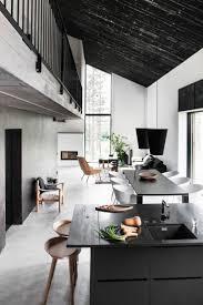modern black white. DEKOS HOUSE Black Ceiling Modern White O