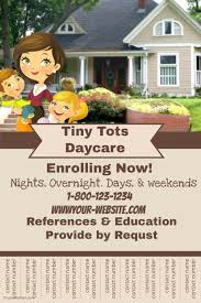 Daycare Flyer Template Postermywall