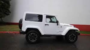 jeep wrangler 2015 2 door. 2015 jeep wrangler rubicon white fl516432 bellevue seattle youtube 2 door i
