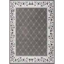 premium gray 5 ft 2 in x 7 ft 4 in indoor