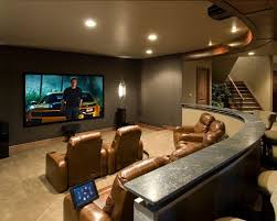 basement theater design ideas. Example Of A Classic Home Theater Design In Denver Basement Ideas
