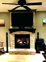 fireplace on tv screen above a fireplace hanging a flat screen over a gas fireplace mounting