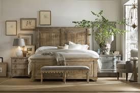 Hooker Furniture Bedroom Boheme Laurier Queen Panel Bed 5750 MWD