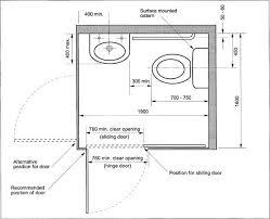 Standard Bathroom Size Exterior