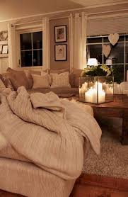 Cozy Neutral Farmhouse Style Living Room - With Ikea Ektorp Sectional. Cozy  cottage style vibe