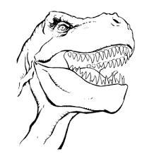 Kleurplaten Van Een Dino