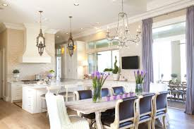french country dining rooms. Lilac Silk Curtains For French Country Dining Room Decorating Ideas With Crystal Chandelier And White Kitchen Cabinet Rooms
