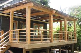 cedar beam porch ideas beams cedar decking and railing a deck railing ideas diywood
