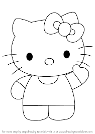 How To Draw Hello Kitty Drawingtutorials101 Com Girl