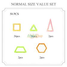 normal picture size 58pcs mylitdear standard size magnetic blocks blocks magnetic